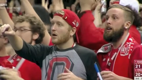 Mike and Josh, two Ohio State fans