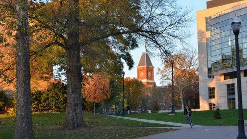 Ohio State University campus.