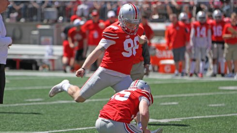 Sean Nuernberger looks to be Ohio State's top kicker heading into 2017.