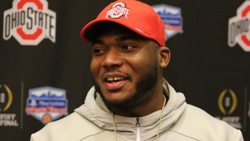 Tyquan Lewis is one of three Ohio State student-athletes attending this year's Big Ten Media Days.