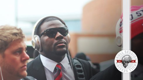 Cardale Jones dressed to the nines for the July 18 2017 Skull Session.