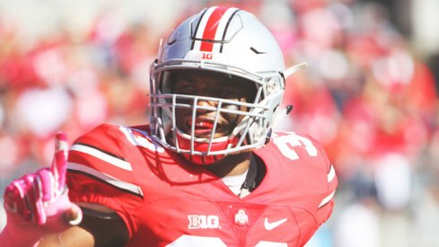 Ohio State linebacker Dante Booker ready for a big 2017.