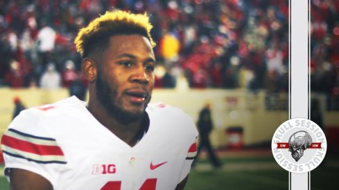 Vonn Bell bleached his hair for the July 22 2017 Skull Session