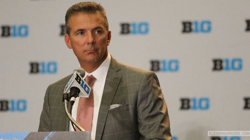Urban Meyer held his first press conference of the year at Big Ten Media Days on Monday.