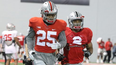 JK Dobbins could see significant playing time backing up Mike Weber in 2017.