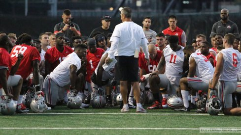 Urban Meyer is looking for the right culture in the first few days of practice.