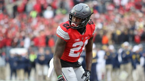 Parris Campbell will look to be one of Ohio State's deep threats in 2017.