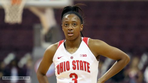 Ohio State senior guard Kelsey Mitchell