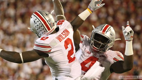 Dontre Wilson and Curtis Samuel