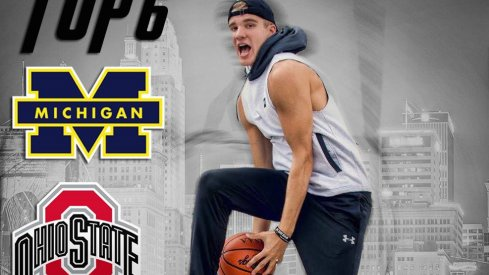 Justin Ahrens includes Ohio State in his top six.