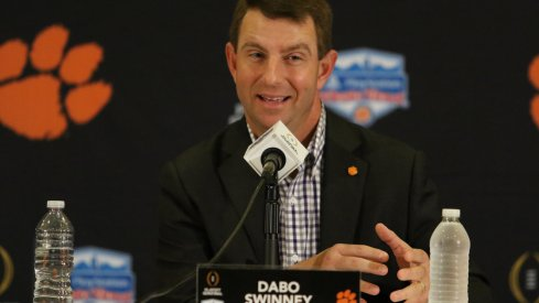 Dabo Swinney was confident Clemson would beat Ohio State entering last year's Fiesta Bowl.