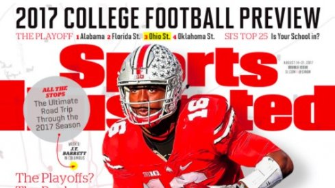 J.T. Barrett on the cover of Sports Illustrated