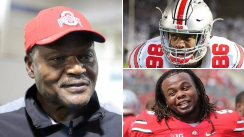 Larry Johnson will lean on Dre'mont Jones and Tracy Sprinkle to anchor the middle of Ohio State's defensive line.