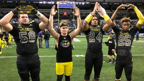 Josh Myers, Tate Martell, Chase Young and Shaun Wade