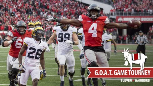 Ohio State G.O.A.T. Game Tournament, Michigan Bracket, featuring Curtis Samuel.