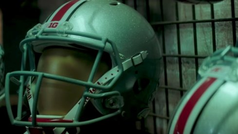 Why doesn't Ohio State put a logo on its helmet?