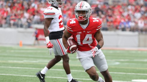 K.J. Hill is expected to be a regular contribution in Ohio State's return game this season.