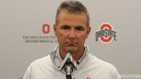 Urban Meyer shaved the beard.