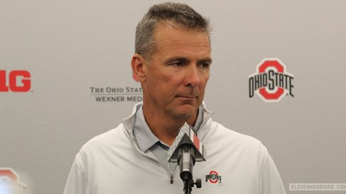 Urban Meyer has shaved.
