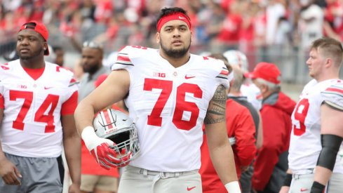 Branden Bowen has shown his teammates and coaches that he deserves to be Ohio State's starting right guard.