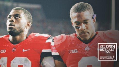 Ohio State quarterback J.T. Barrett and former Ohio State wide receiver Evan Spencer