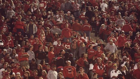 Indiana at Ohio State sold out.