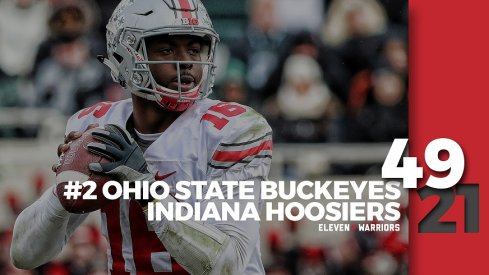 Statagram: Ohio State 49, Indiana 21