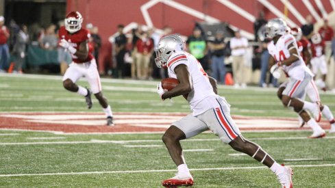 Parris Campbell made the most of his opportunities once the ball was securely in his hands