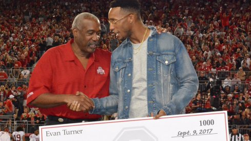 Evan Turner $500k donation to Ohio State.