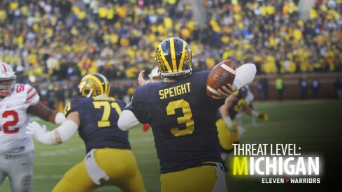 Michigan quarterback Wilton Speight