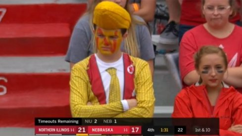 Saturday was a tough day for the Cornhusker fans in Lincoln.