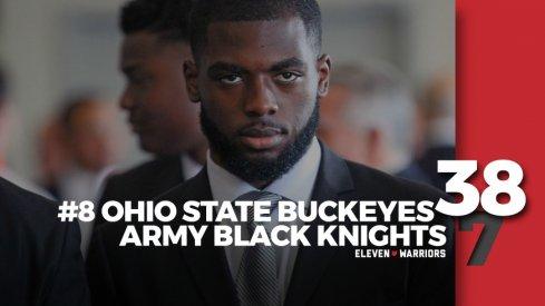 Statagram: Ohio State 38, Army 7