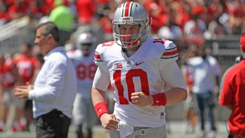 Joe Burrow is back on Ohio State's depth chart.