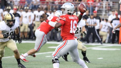 J.T. Barrett and the Ohio State offense took a step in the right direction against Army.