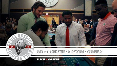 Nick Bosa and Mike Weber play roulette for the September 23rd Skull Session