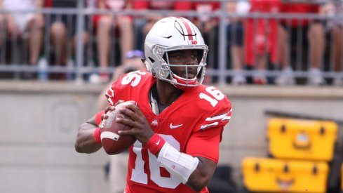 J.T. Barrett passes Bobby Hoying