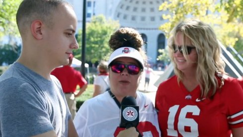 Buckeye fans are still split on Ohio State's quarterback situation.