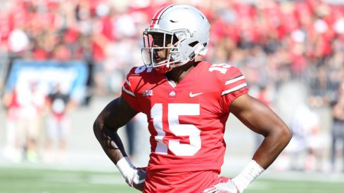 Jaylen Harris played 19 snaps in his Ohio State debut on Saturday.
