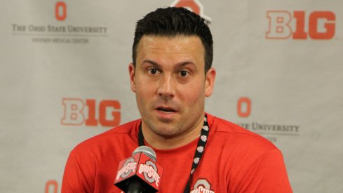 Assistant coach Ryan Pedon