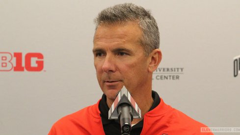 Urban Meyer held his latest press conference on Monday.
