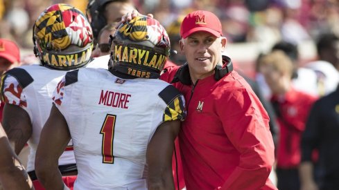 Maryland coach D.J. Durkin is still held in high regard by Ohio State coach Urban Meyer.