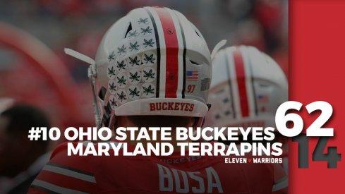 Statagram: Ohio State 62, Maryland 14