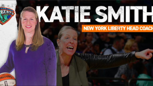 Katie Smith is the New York Liberty's new head coach.