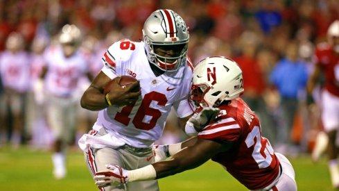 J.T. Barrett does whatever he wants against Nebraska