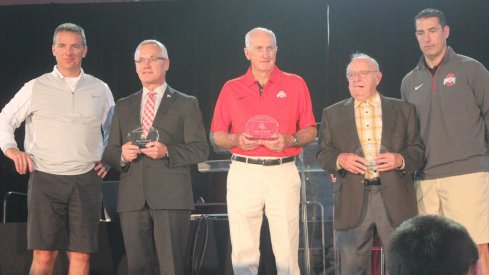 Urban Meyer, Jim Tressel, John Cooper, Earle Bruce, and Luke Fickell