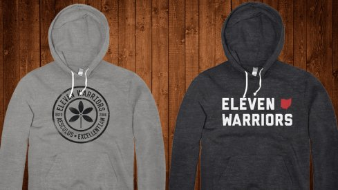 New hoodies at Eleven Warriors Dry Goods