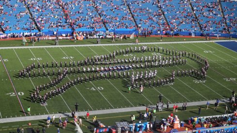 The band at the Bills game