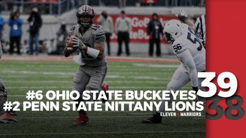 Statagram: Ohio State 39, Penn State 38