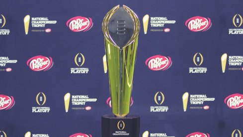 National title trophy