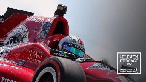 IndyCar driver and Buckeye fan Graham Rahal